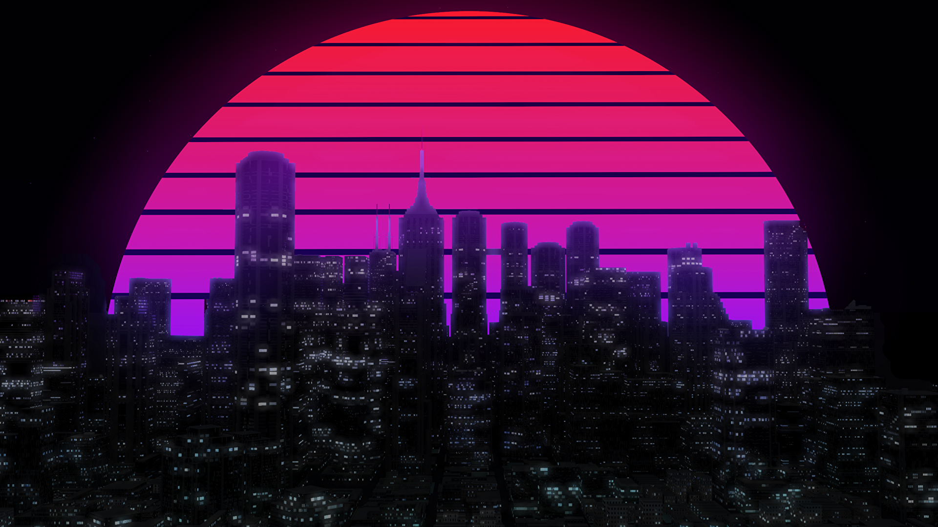 City With A E S T H E T I C Background [2560