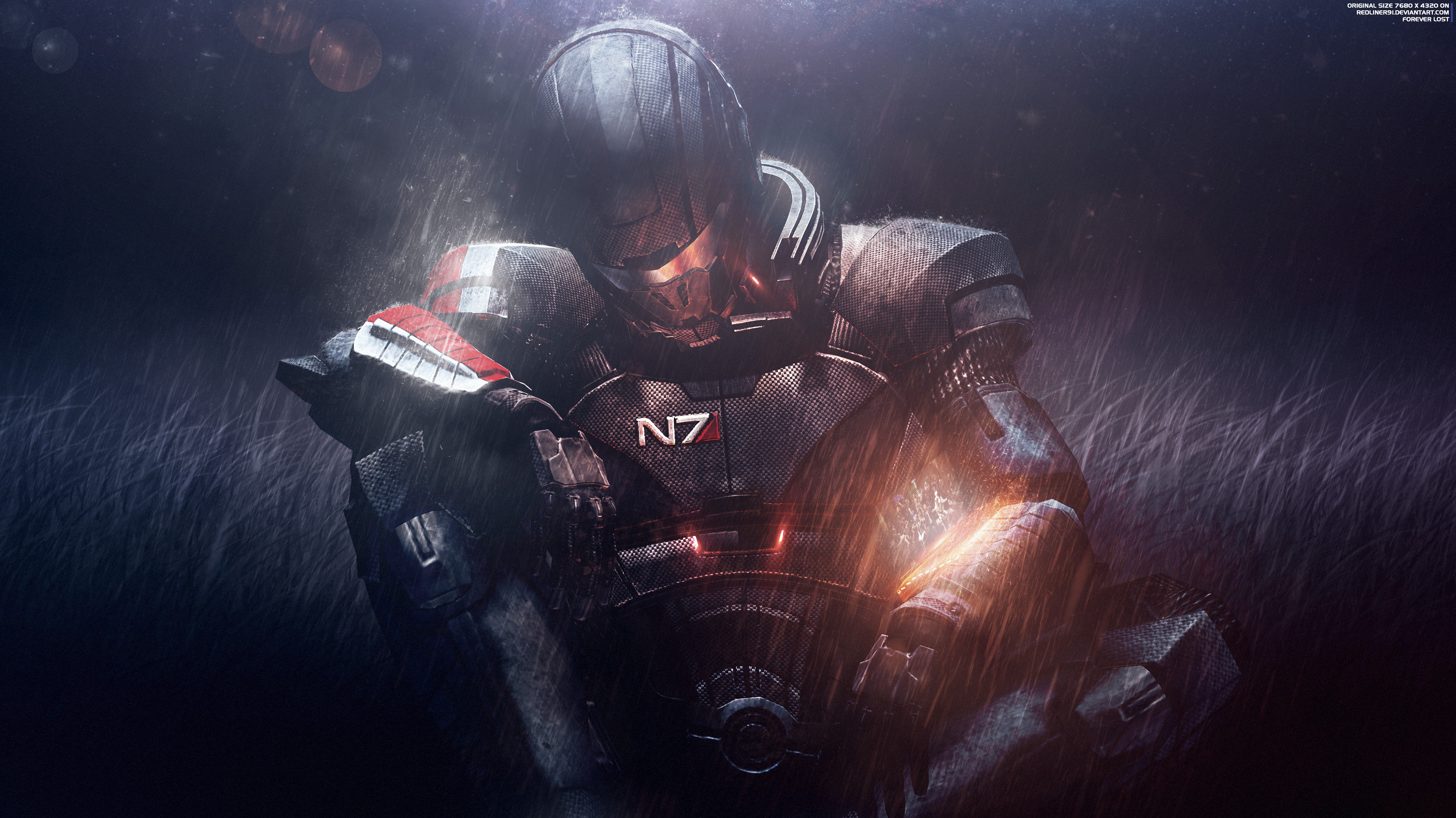 Forever Lost - Mass Effect Trilogy [4K] : wallpapers
