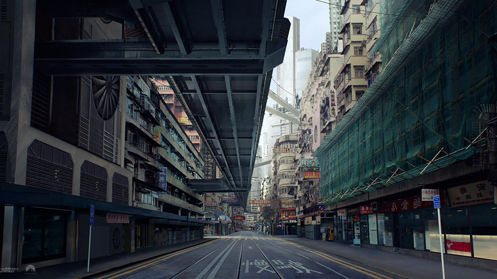 Ghost In The Shell Concept Art Wallpapers