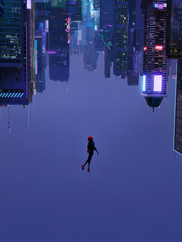 Into The Spider Verse Wallpaper 1080p Wallpapers