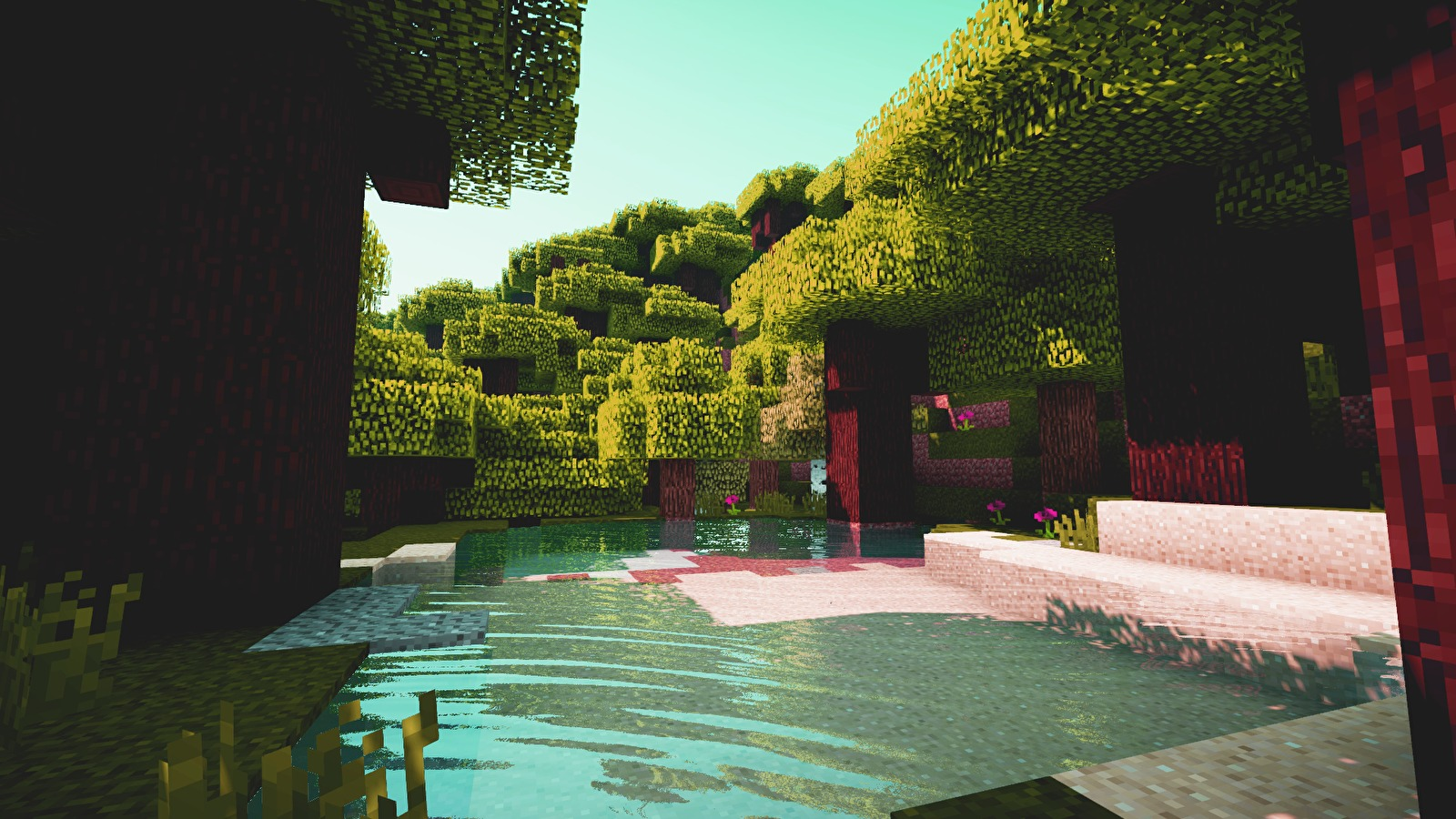 Minecraft Shaders Screenshot Edited 1920x1080  Wallpapers