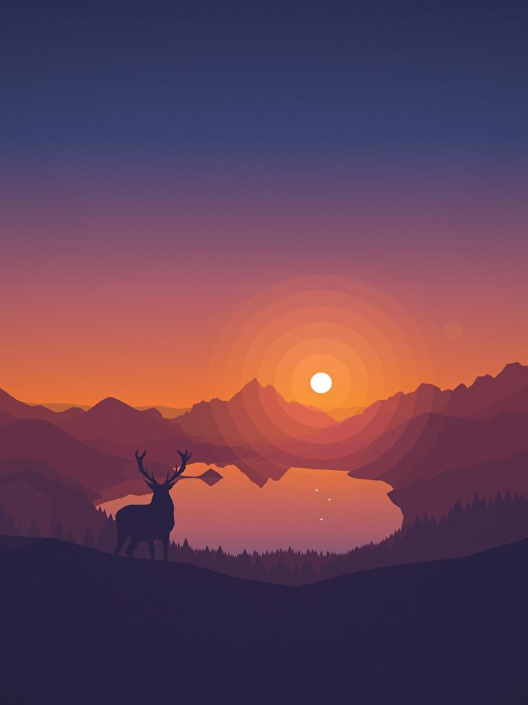 Minimalist Wallpaper From Firewatch : Wallpapers