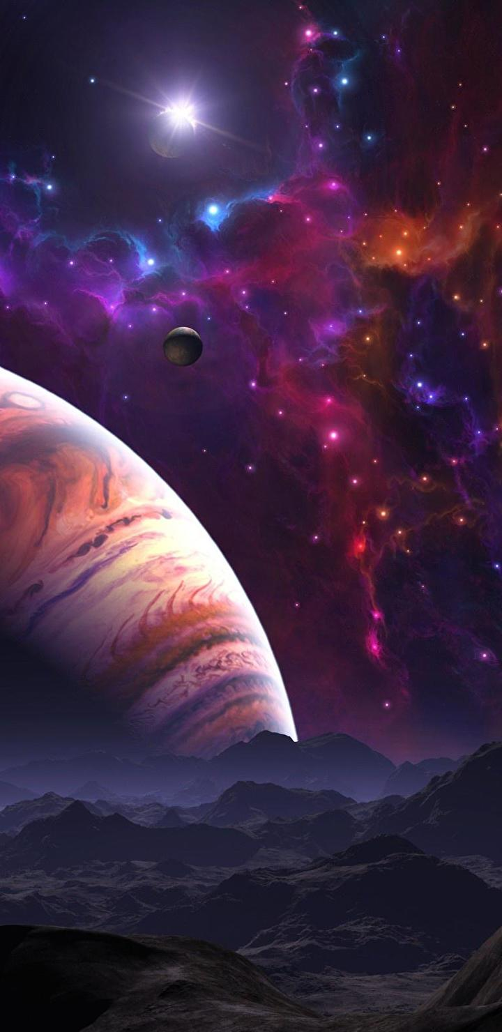 Astronomy, Outer Space, Planet, Space, Universe Resized By