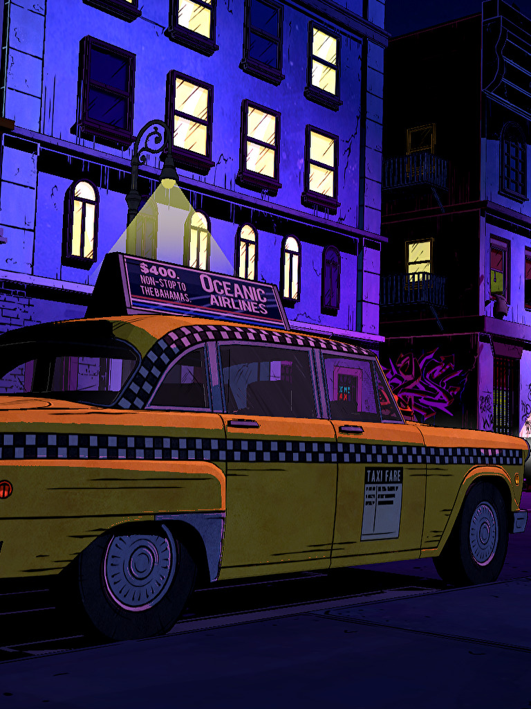 Neo Noir Meets Neon The Wolf Among Us 1920x1080 Wallpapers