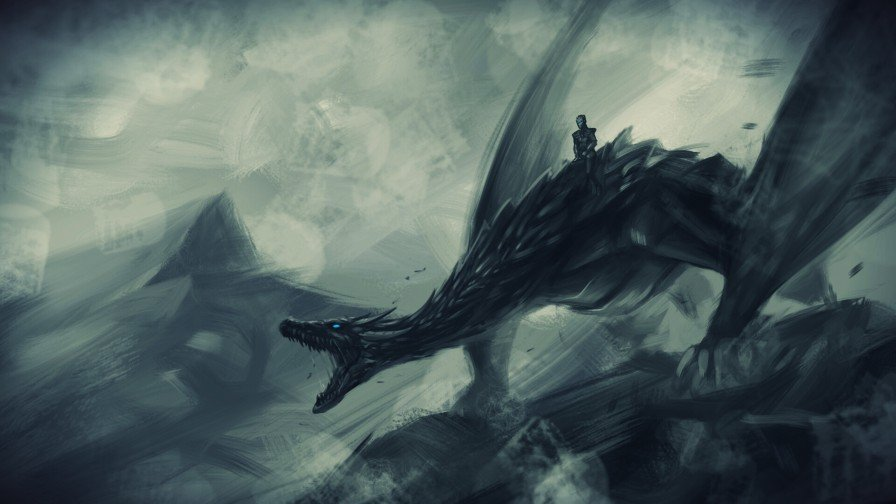 Dragon, Bird, Animal, Painting, Art resized by Ze Robot