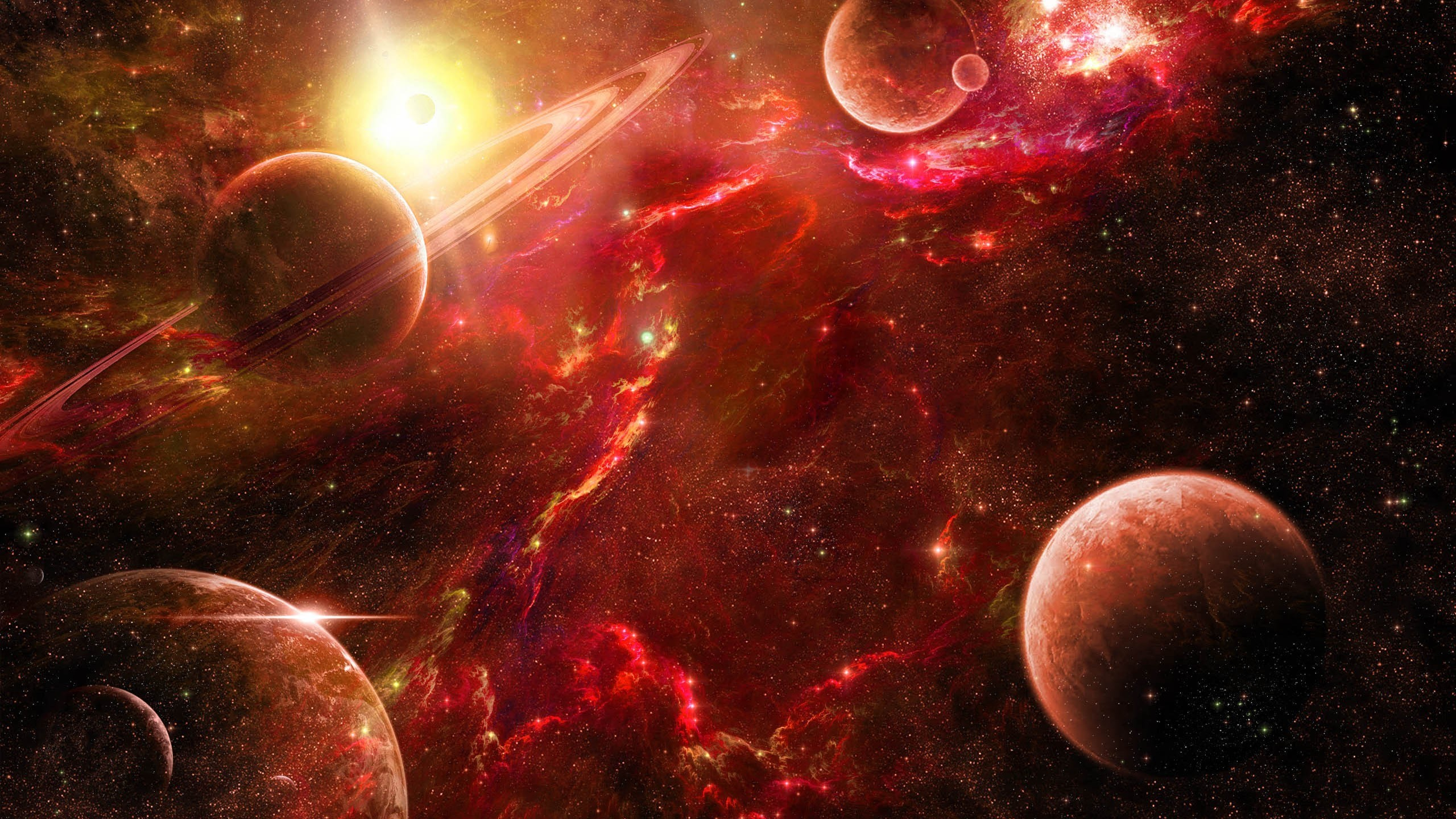 Popular outer space wallpaper 2560x1600 wallpapers - Space 2560 x 1440 ...