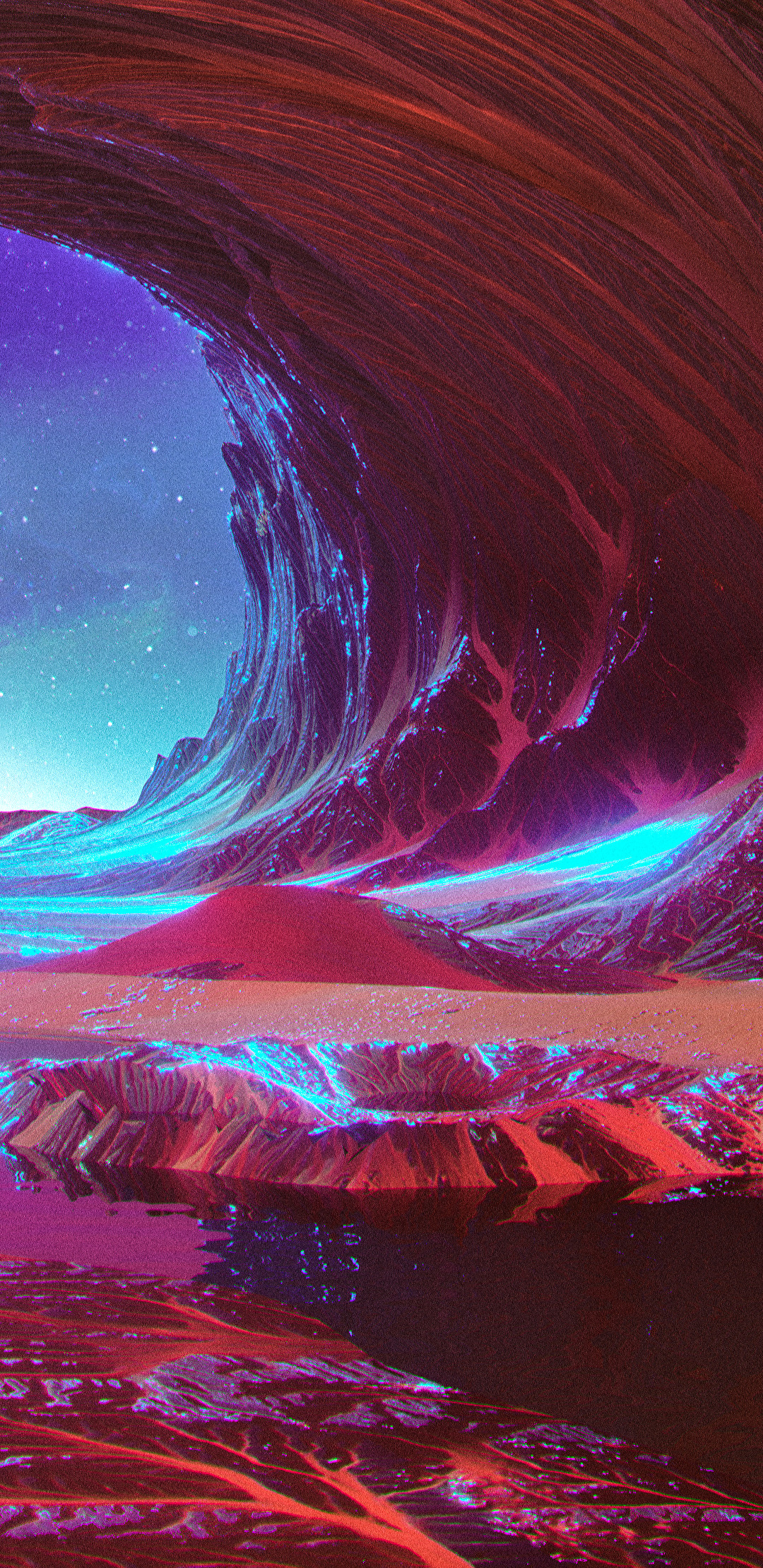 RIDE.WAVE (Beeple) [3840x2160] : Wallpapers