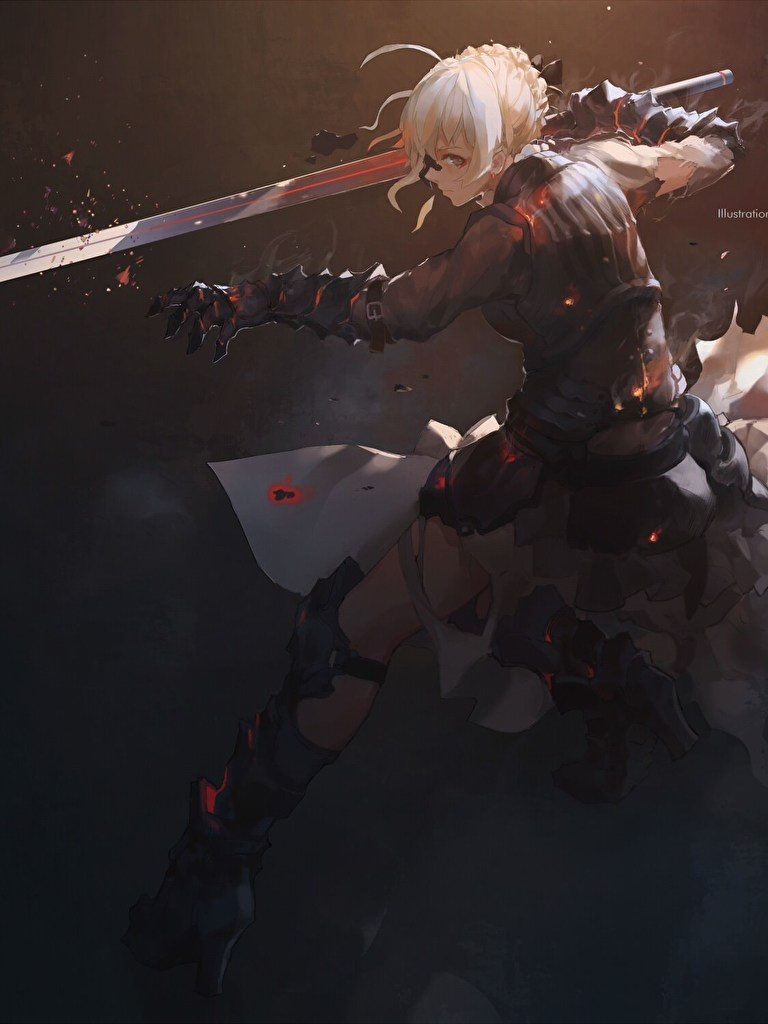 Saber Alter (Fate Series) [2500x1500] : wallpapers