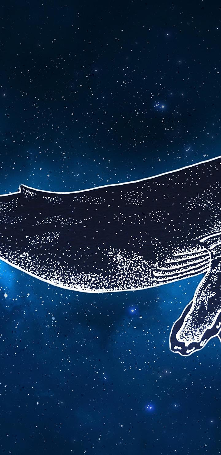 [OC] Space Whale (3480 X 2160) : Wallpapers
