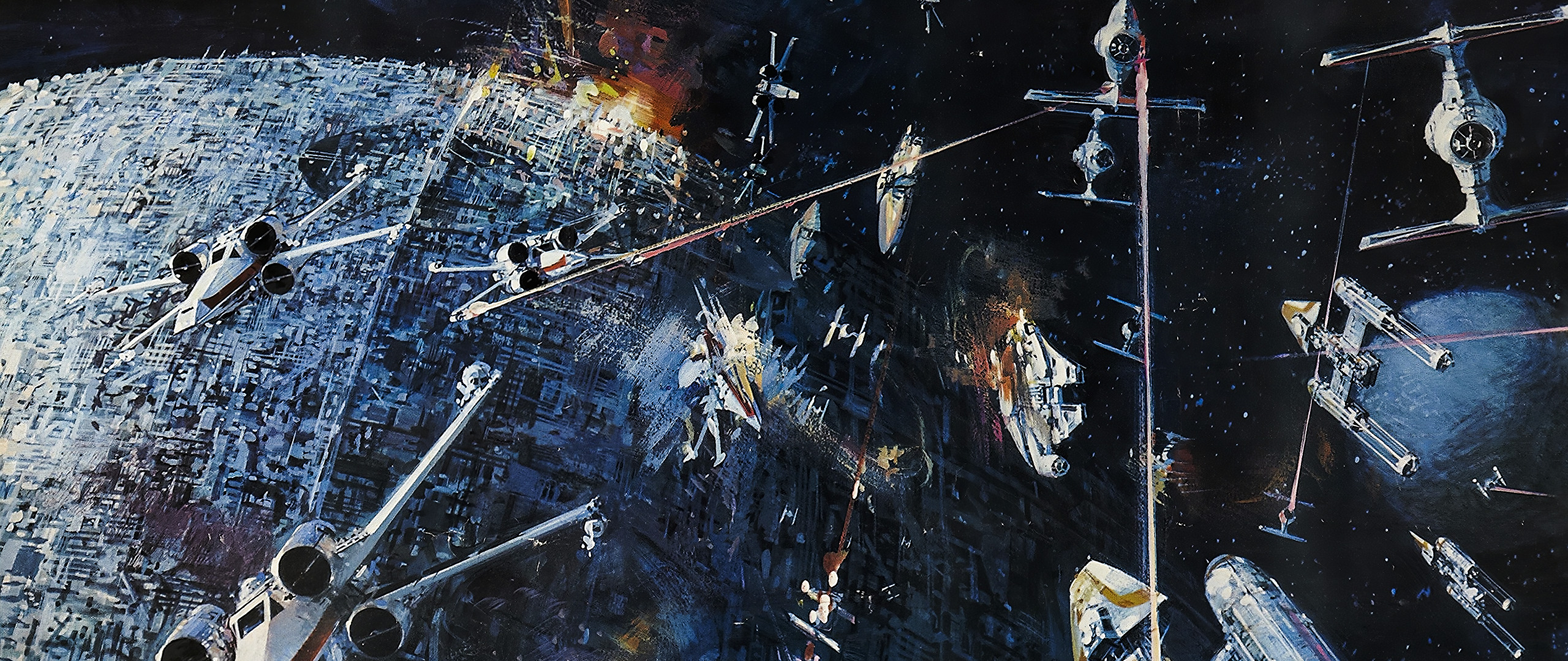 Star Wars Poster By John Berkey 1977 3840x2160 Wallpapers
