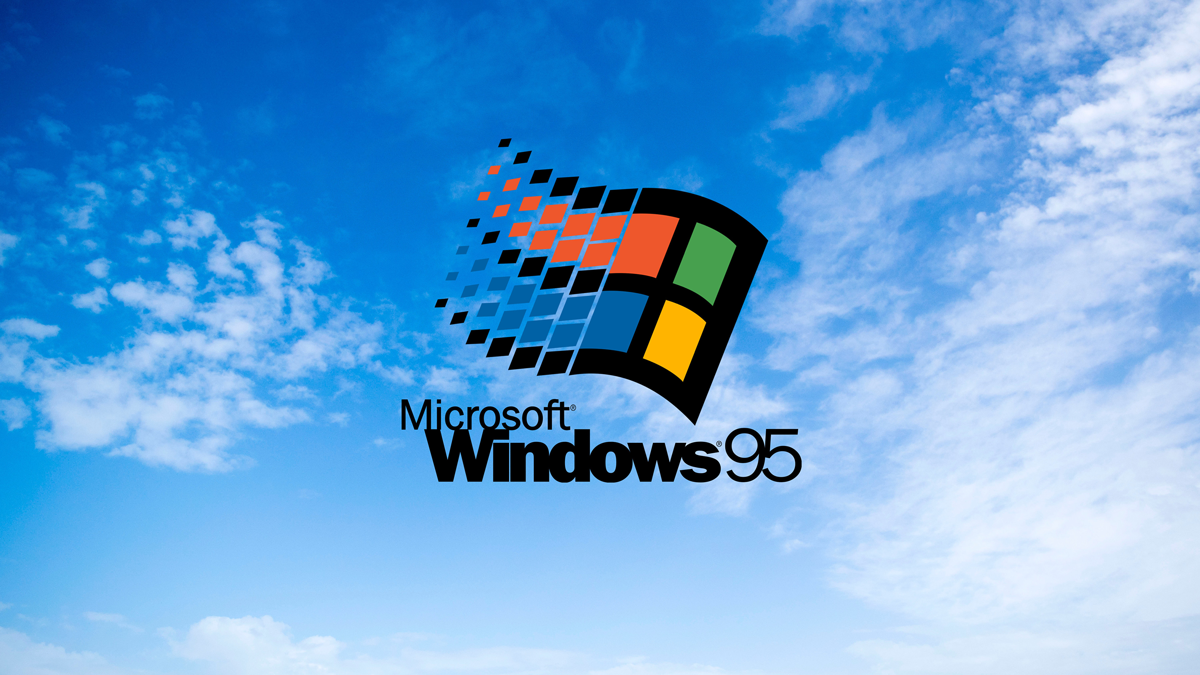 was tired of looking for a highres windows 95 wallpaper so i made my own 6000x4000 wallpapers highres windows 95 wallpaper so