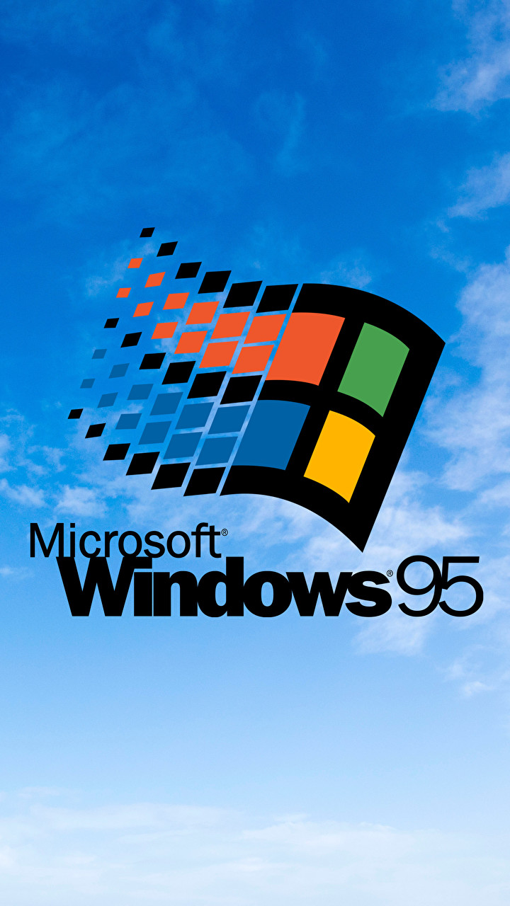 Was Tired Of Looking For A Highres Windows 95 Wallpaper So I
