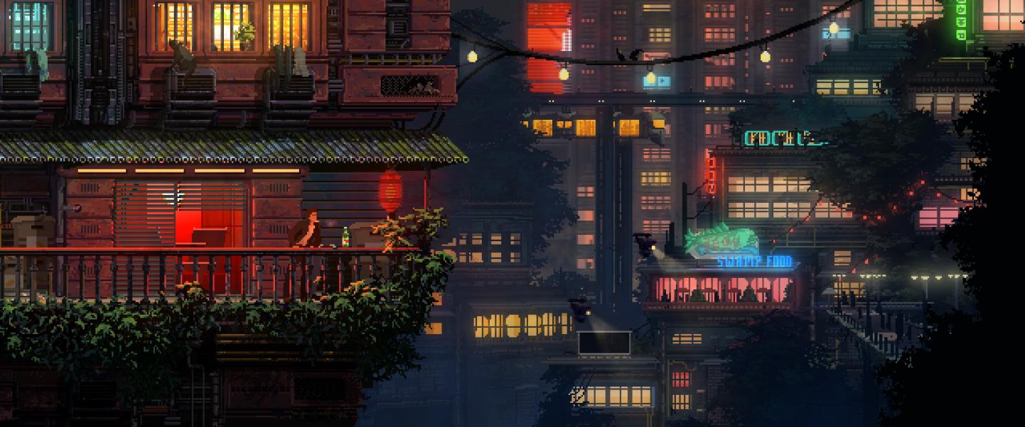 Lighting, City, Metropolis, Urban, Building resized by Ze Robot