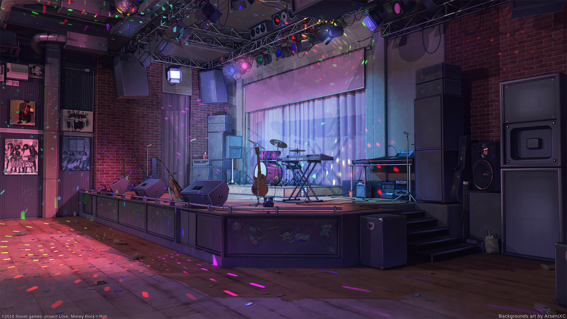 Stage Human Person Crowd Interior Design Resized By Ze Robot