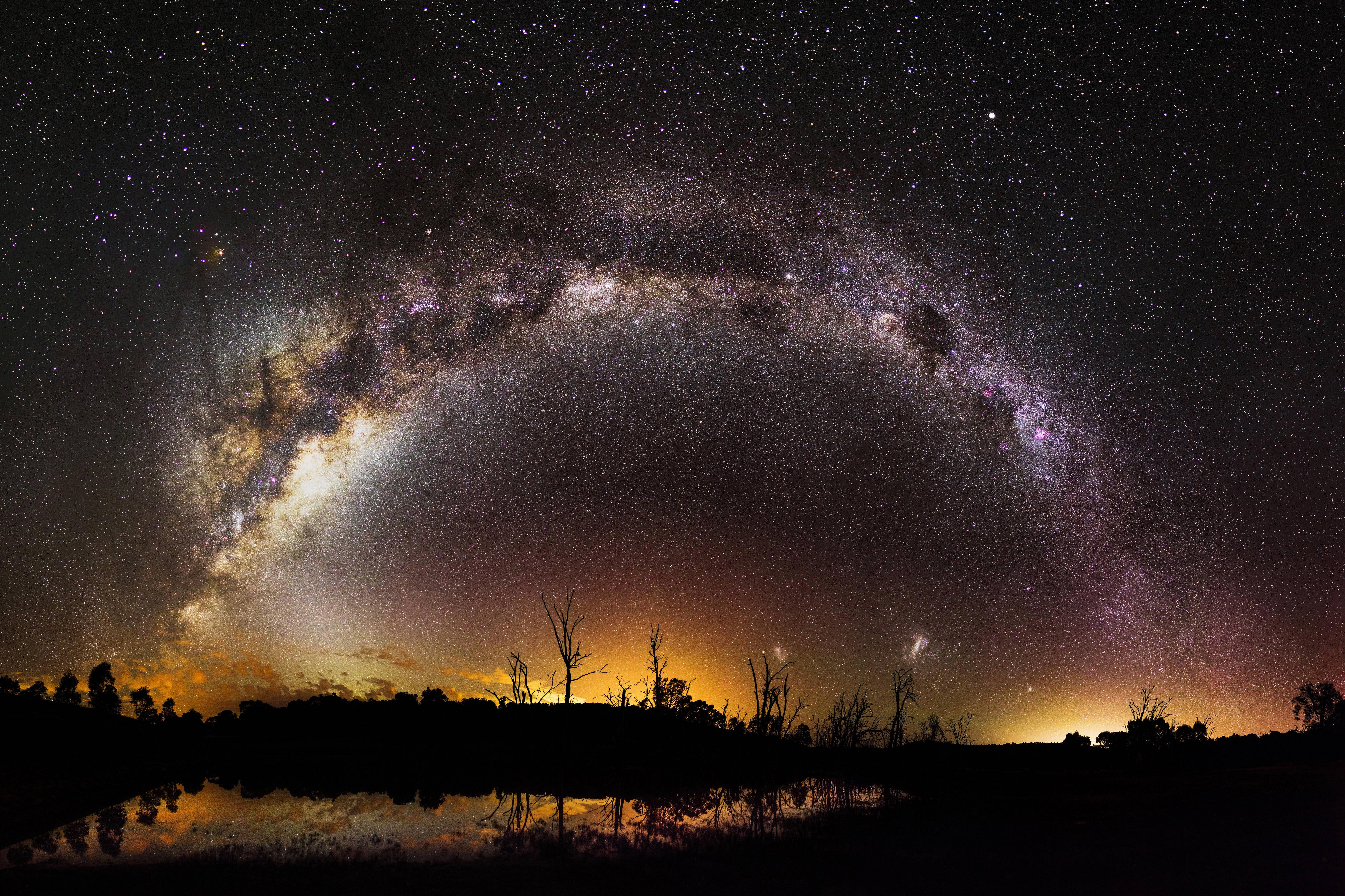 Taking photos of milky way The 100 Most Amazing Space Photos of 2017