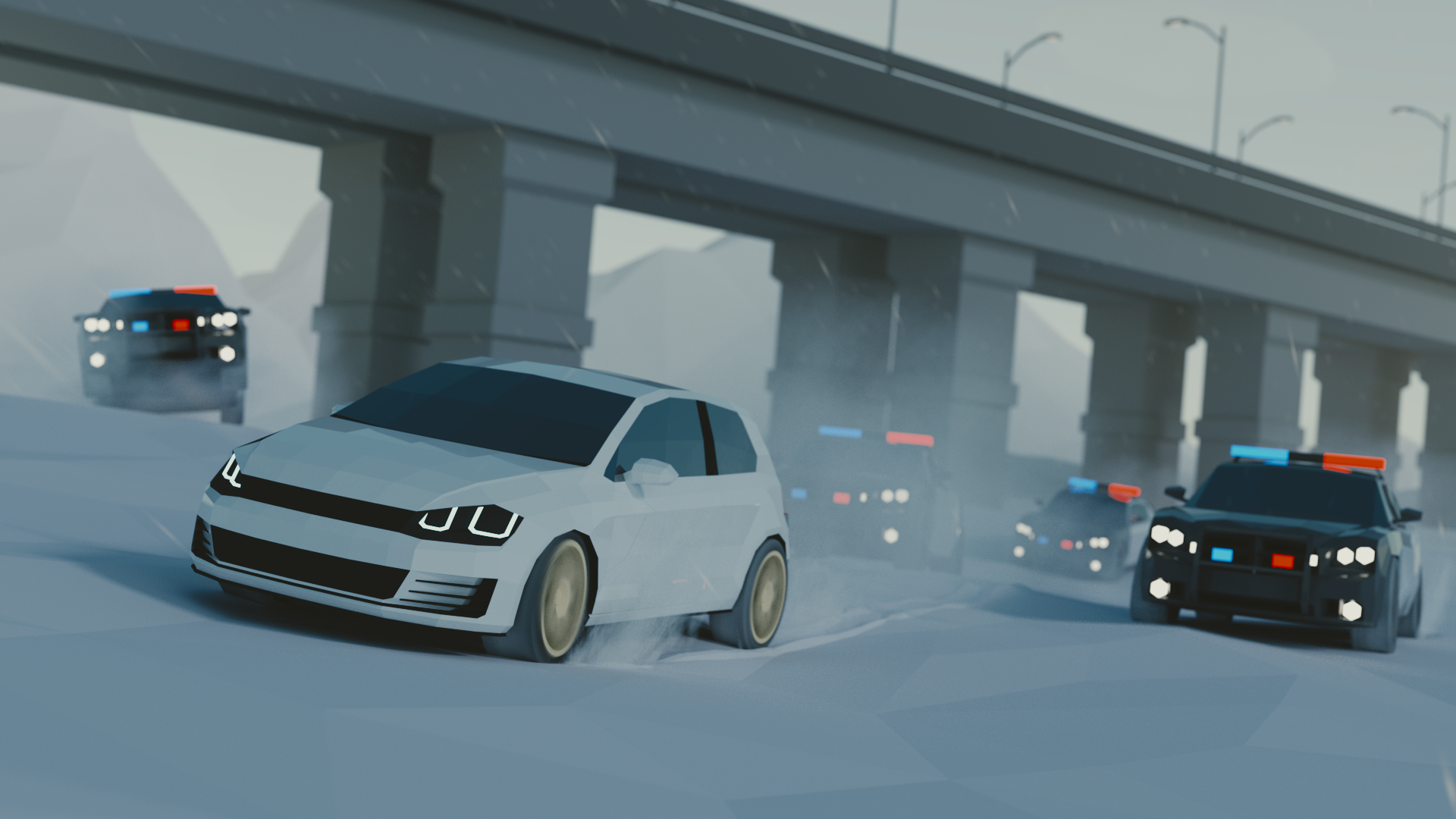 Freeway, Road, Automobile, Car, Coupe resized by Ze Robot